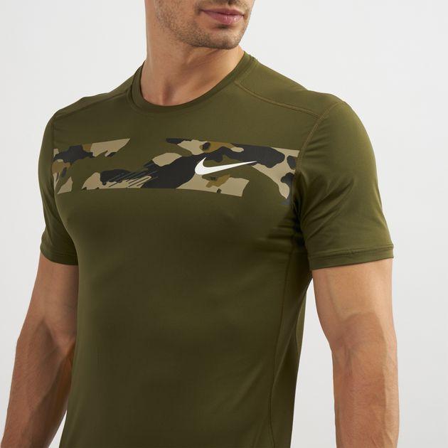 0ff07300aa46 Nike Camo Training T-Shirt