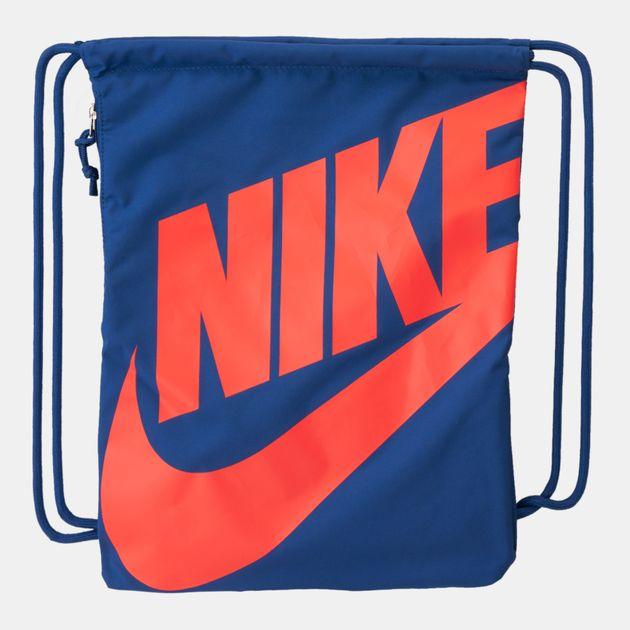 0bdd7ba89f Nike Heritage Gym Sack - Blue