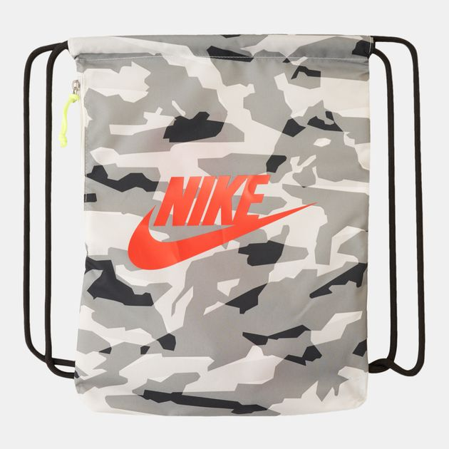 Nike Heritage Graphics Gymsack   Backpacks and Rucksacks   Bags ... 8fdda8aa7a