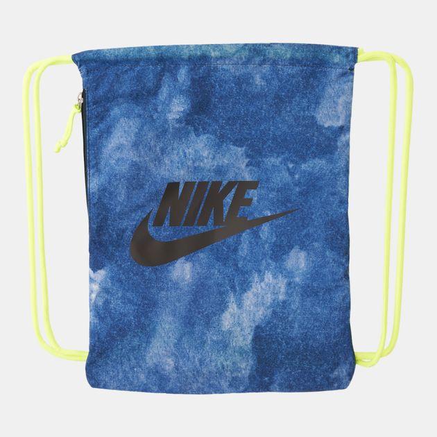 4f79fe47d3 Nike Heritage Graphics Gymsack - Blue