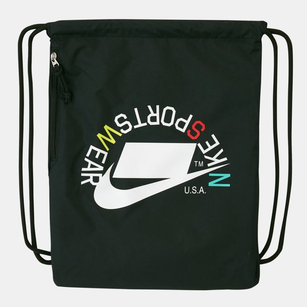 Nike Heritage Graphic 2 Gym Sack   Backpacks and Rucksacks   Bags ... bcaf54d368