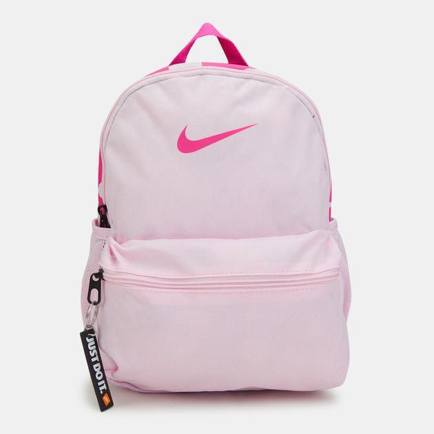 1c796f7b64c4 Nike Kids  Brasilia Just Do It Mini Backpack (Older Kids) - Pink