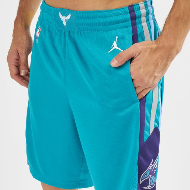 separation shoes 2eab2 66ca1 Jordan NBA Charlotte Hornets Icon Edition Swingman Shorts