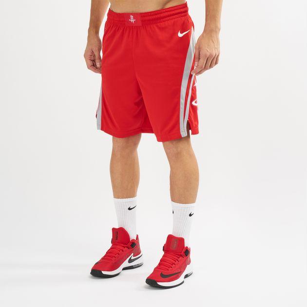e444aa8cbf4 Nike NBA Houston Rockets Road 18 Swingman Shorts