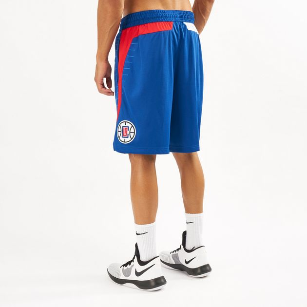 f24390df7c1 Nike Men s NBA Los Angeles Clippers Icon Edition Swingman Shorts - 2018 19