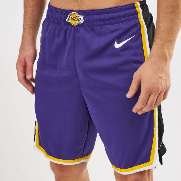 bcde69eff Nike NBA Los Angeles Lakers Statement Edition Swingman Shorts ...