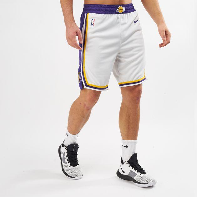 8ddd4441334 Nike NBA Los Angeles Lakers Association Edition Swingman Shorts ...