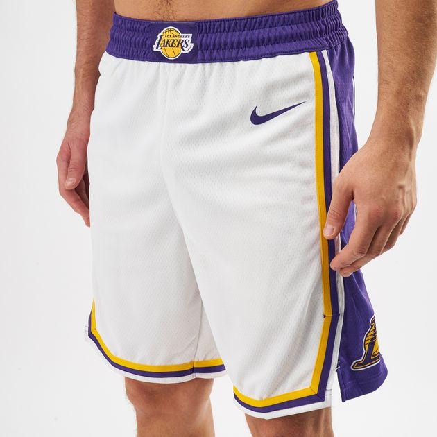 21577dfa Nike NBA Los Angeles Lakers Association Edition Swingman Shorts, 1363257