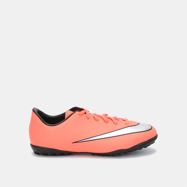 wholesale dealer db40d 2c6dd Nike Kids' Mercurial Victory V Turf Soccer Shoe (Younger Kids)