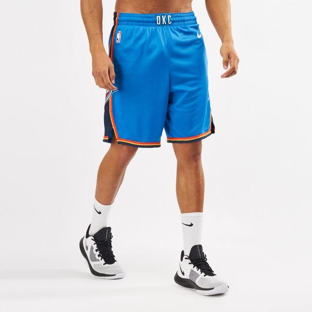 new concept 271a8 279c4 Nike NBA Oklahoma City Thunder Icon Edition Swingman Shorts