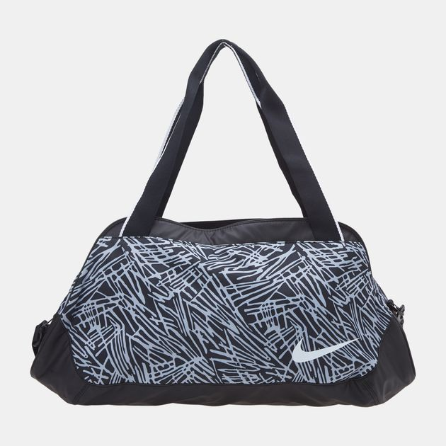 Nike Legend Club Print Duffel Bag - Black