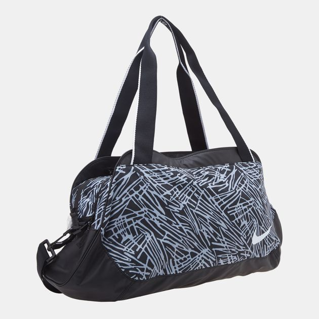 7c290e250bae6 Shop Black Nike Legend Club Print Duffel Bag for Womens by Nike 2