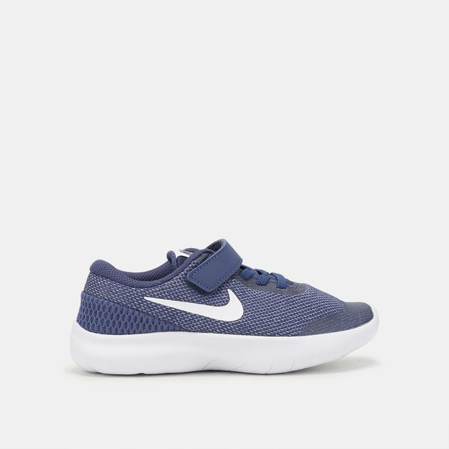 20afcd358b62c Shop Blue Nike Kids  Flex Experience RN 7 Running Shoe (Pre School ...