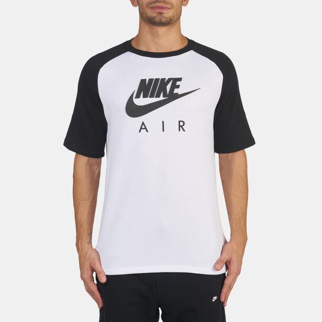 a136cc825ff4 Shop White Nike Sportswear Air Hybrid T-Shirt for Mens by Nike