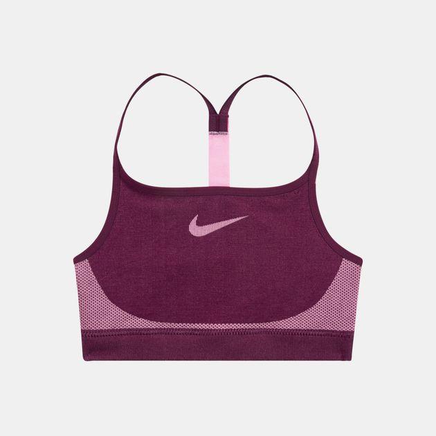 the latest 2c252 f1141 Nike Kids  Seamless Sports Bra (Older Kids), 1477101