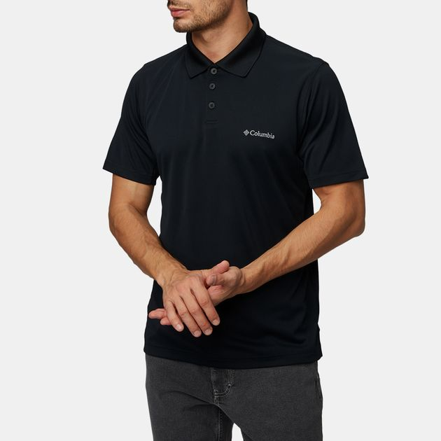 f9f438c95ef Shop Black Columbia New Utilizer™ Polo Shirt for Mens by Columbia | SSS