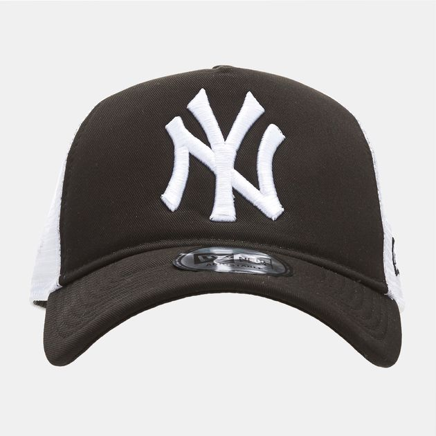 Shop New Era MLB New York Yankees Clean Trucker Snapback Cap for ... 6173b9ee11ce