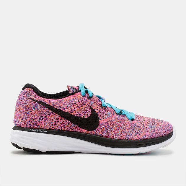 huge selection of a1291 d0609 Nike Woven Flyknit Lunar 3 Running Shoe, 353579