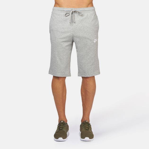 bbb9eeb8e Shop Grey Nike Club Jersey Shorts for Mens by Nike