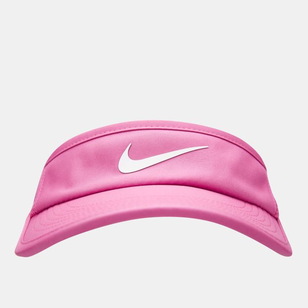 618e84c1558 Nike Women s Court AeroBill Tennis Visor Cap - Pink