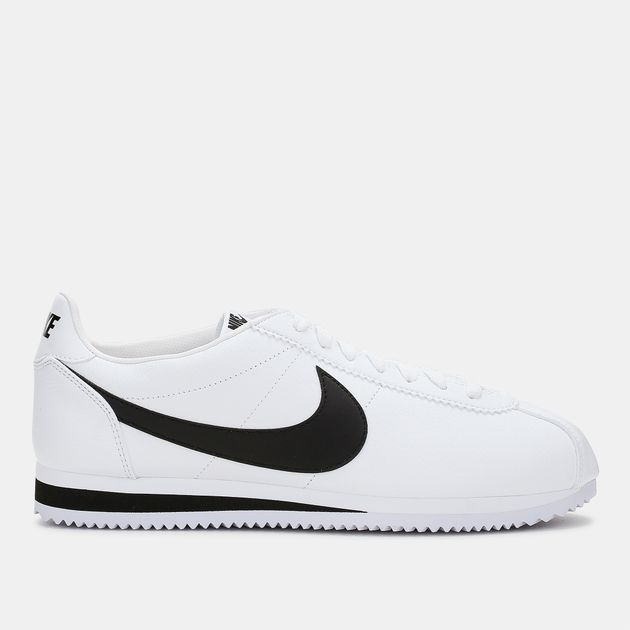 premium selection cd0e7 616d7 Shop White Nike Classic Cortez Leather Shoe for Mens by Nike 7 | SSS