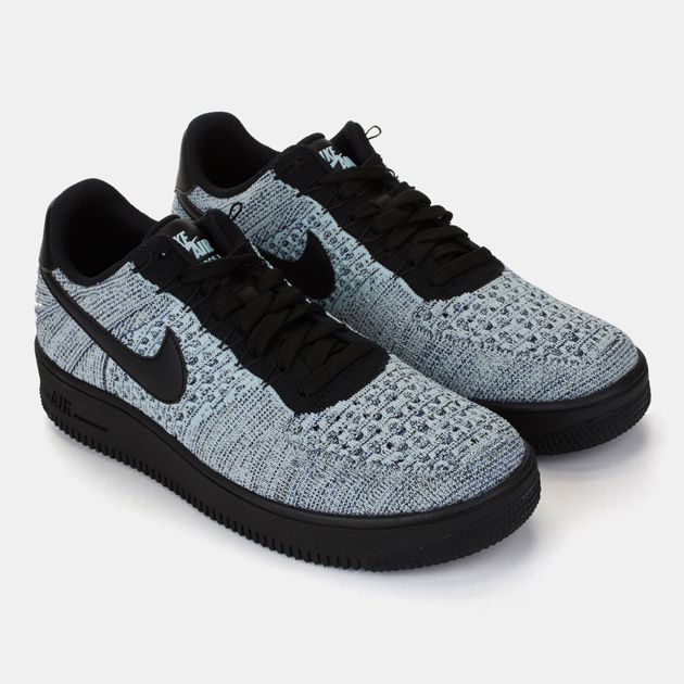 wholesale dealer 9a9fd 3ae2e Shop Blue Nike Air Force 1 Ultra Flyknit Low Shoe for Mens ...