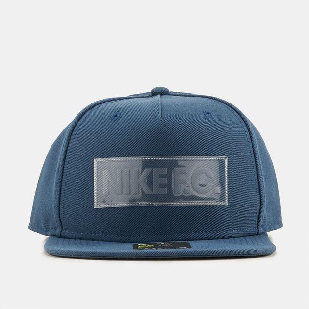 73429657711 Shop Blue Nike F.C. True Cap for Mens by Nike