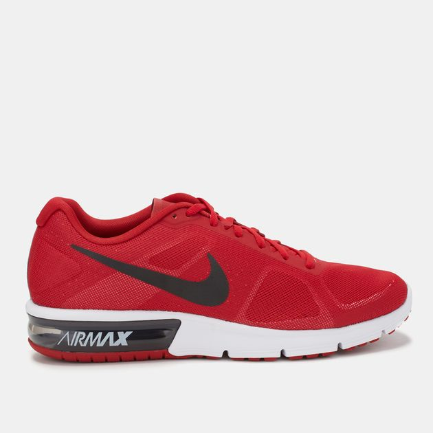 35c685eea7 Shop Red Nike Air Max Sequent Shoe for Mens by Nike | SSS