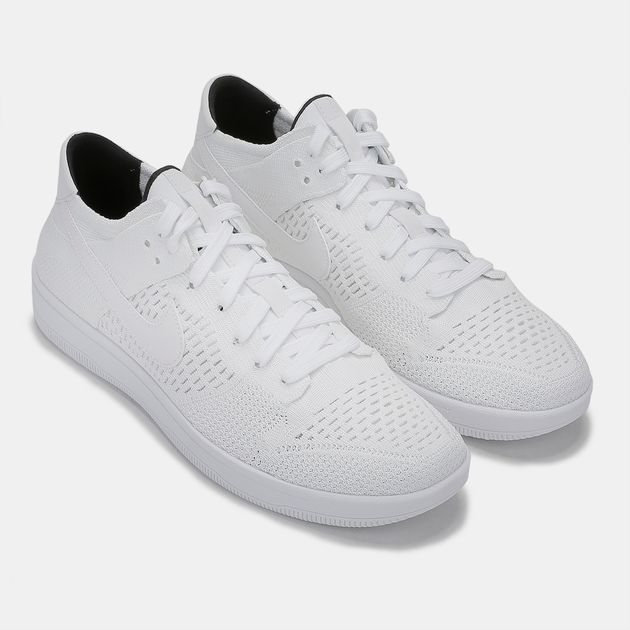 uk availability 98637 876df Shop White Nike Dunk Low Flyknit Shoe for Mens by Nike | SSS