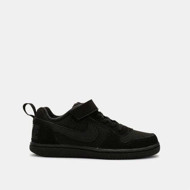 aeccebaa0f Shop Black Nike Kids  Court Borough PSV Low Shoe for Kids by Nike