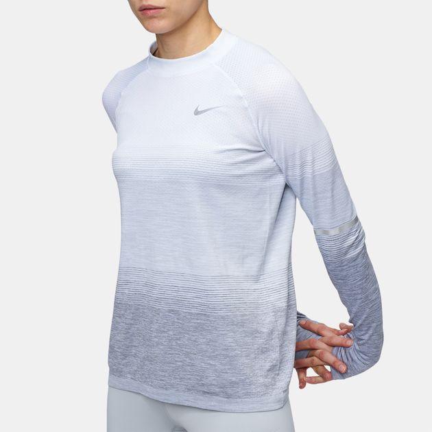 Nike Dri-FIT Knit Running Long Sleeve Top