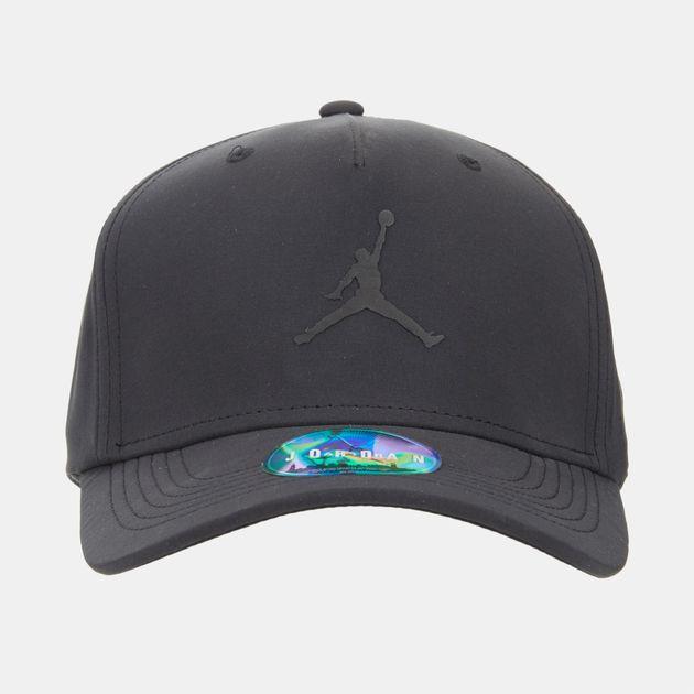 19d6504d Shop Black Jordan Classic99 Woven Cap for Unisex by Jordan | SSS