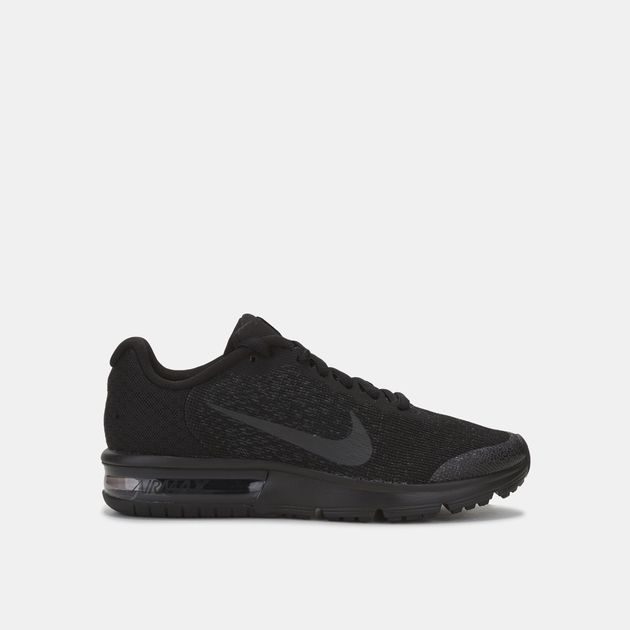 Shop Black Nike Kids' Air Max Sequent 2 Shoe for Kids by