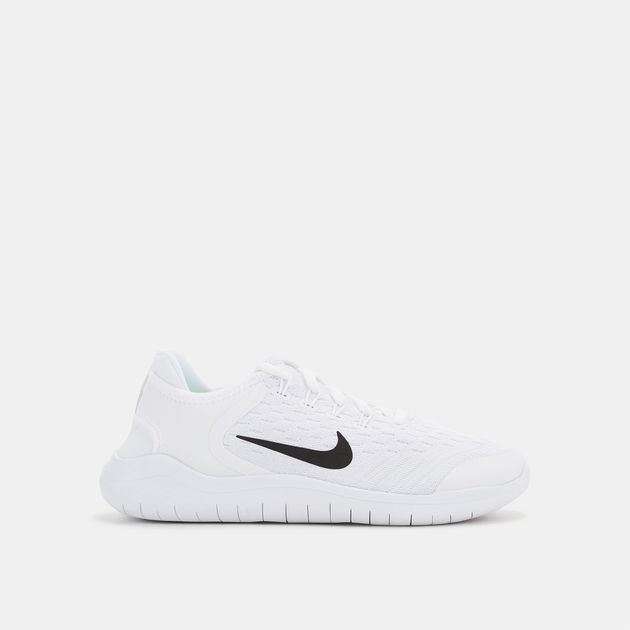 best website 24279 423ce Shop White Nike Kids' Free RN 2018 Running Shoe | Shoes ...