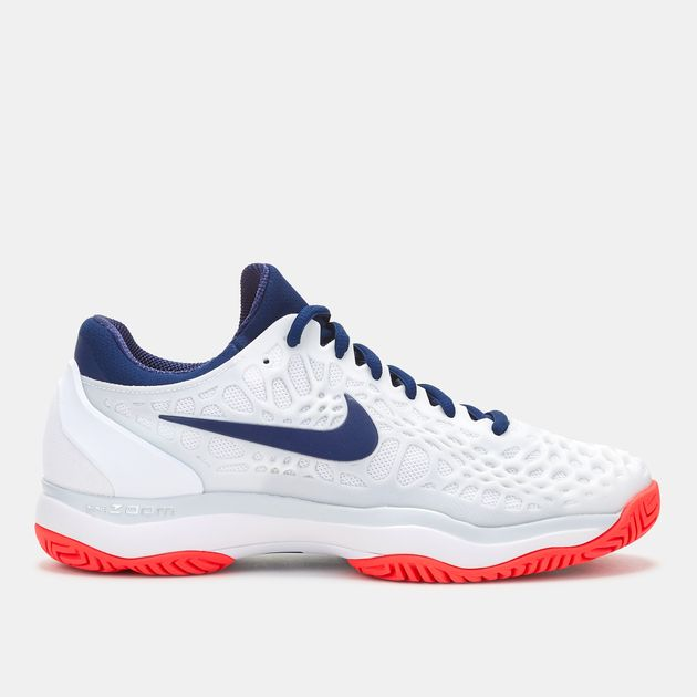 Shop White Nike Zoom Cage 3 Tennis Shoe for Womens by Nike  32dee694b6dd