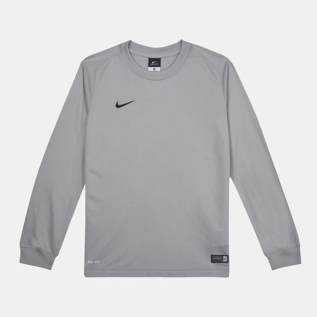 ecb5d86b3 Shop Grey Nike Kids  Park Goalie II Football Jersey for Kids by Nike ...