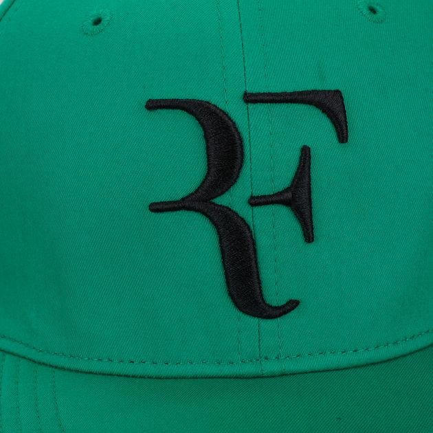 Shop Green Nike Court AeroBill Roger Federer Cap for Unisex by Nike ... e42658c63d