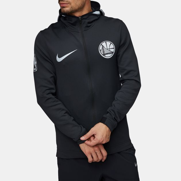 b8dcb6307c06f2 Nike NBA Golden State Warriors Therma Flex Showtime Full Zip Hoodie, 902373
