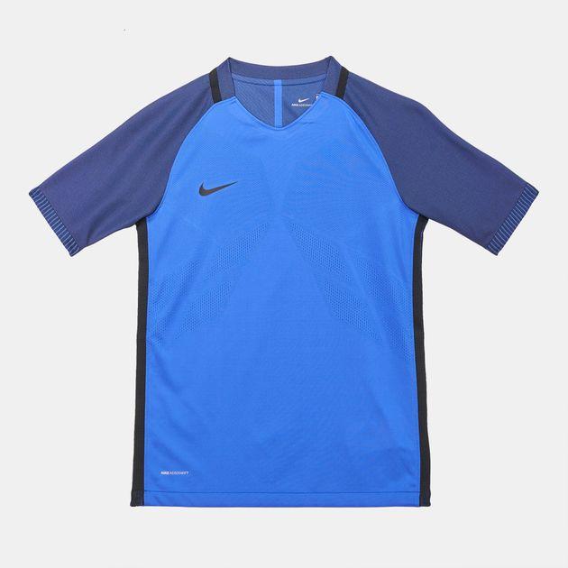 c65d48f651 Shop Blue Nike Kids  Aeroswift Strike T-Shirt for Kids by Nike