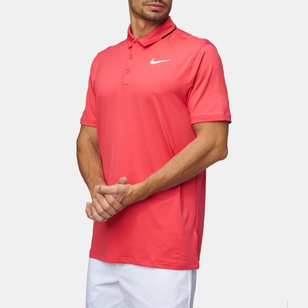 100b43255 Shop Red Nike Golf Icon Elite Polo T-Shirt for Mens by Nike Golf | SSS