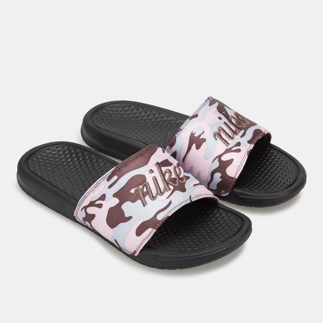ac29ee786875f8 Nike Women s Benassi JDI TXT SE Slides