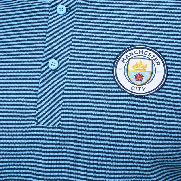 c7740186 Nike Manchester City FC Modern Authentic Grand Slam Polo T-Shirt - Blue,  792697
