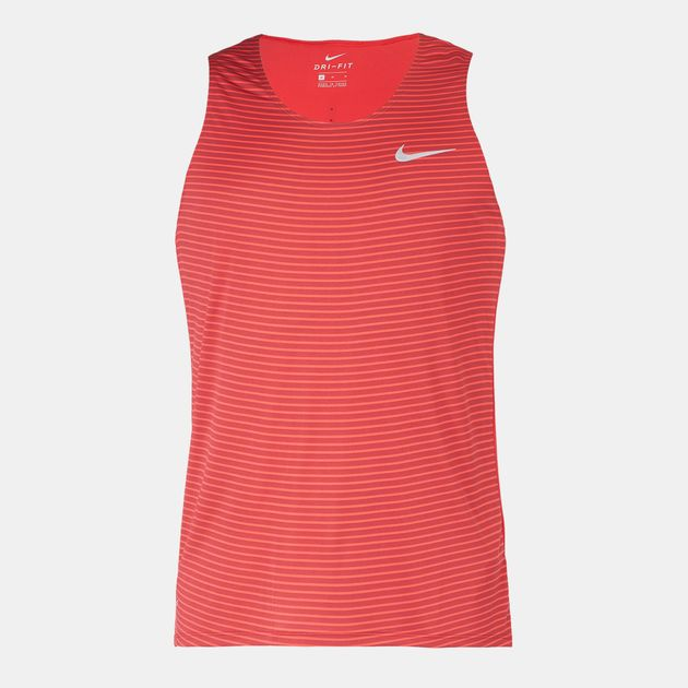 d7dfef6cf23d30 Shop Red Nike Racing Print Tank Top for Mens by Nike
