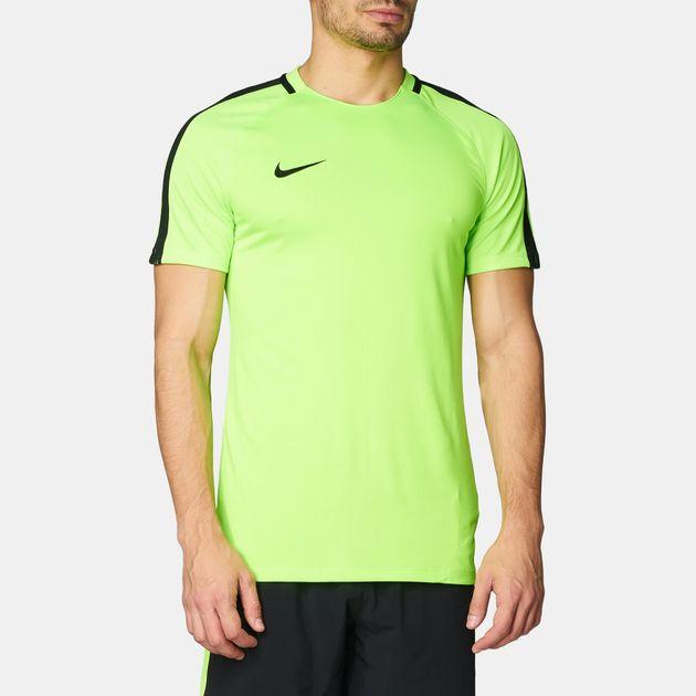 b8b5b575449f7 Shop Green Nike Dry Squad Prime Football T-Shirt for Mens by Nike   SSS