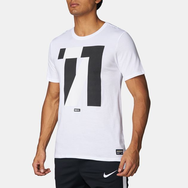 d9f9aef5 Shop White Nike FC Football T-Shirt for Mens by Nike | SSS