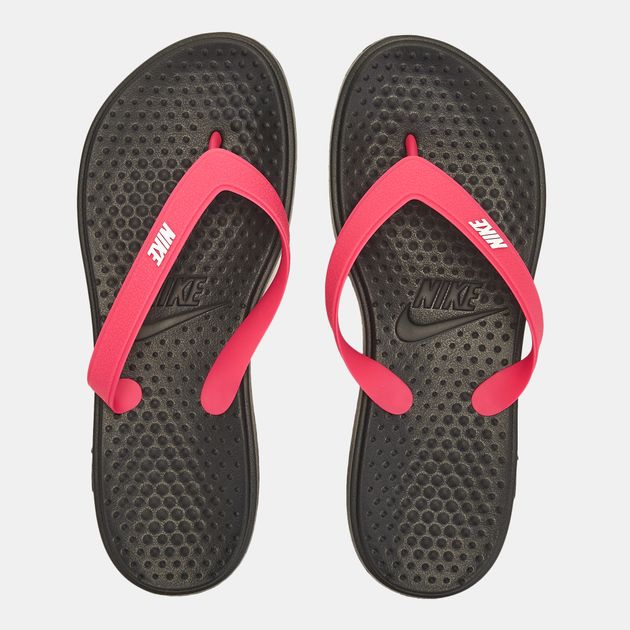563957934 Shop Black Nike Solay Thong Sandals for Womens by Nike - 0 | SSS