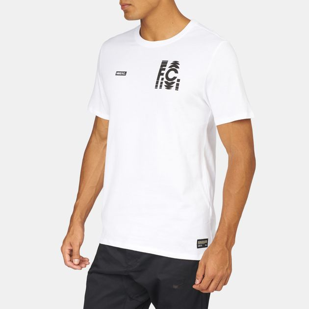 6fe087d2 Shop White Nike FC Fade T-Shirt for Mens by Nike | SSS