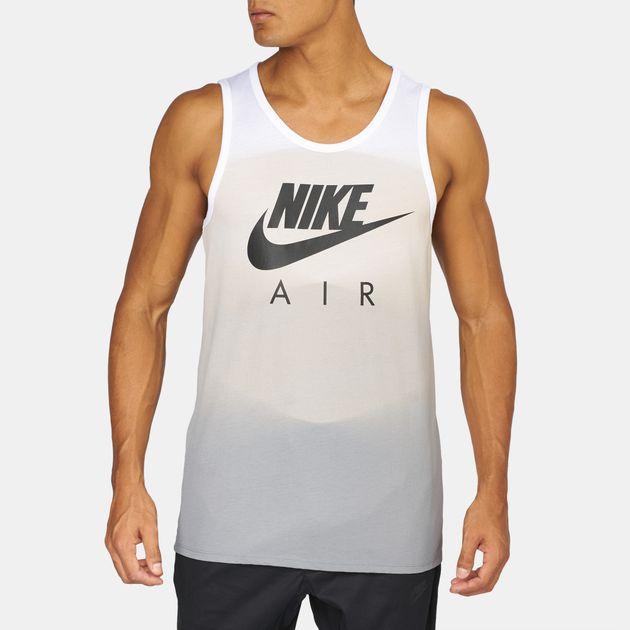 Shop White Nike Air Max 95 AOP Tank Top for Mens by Nike  4d1aa3dd38b