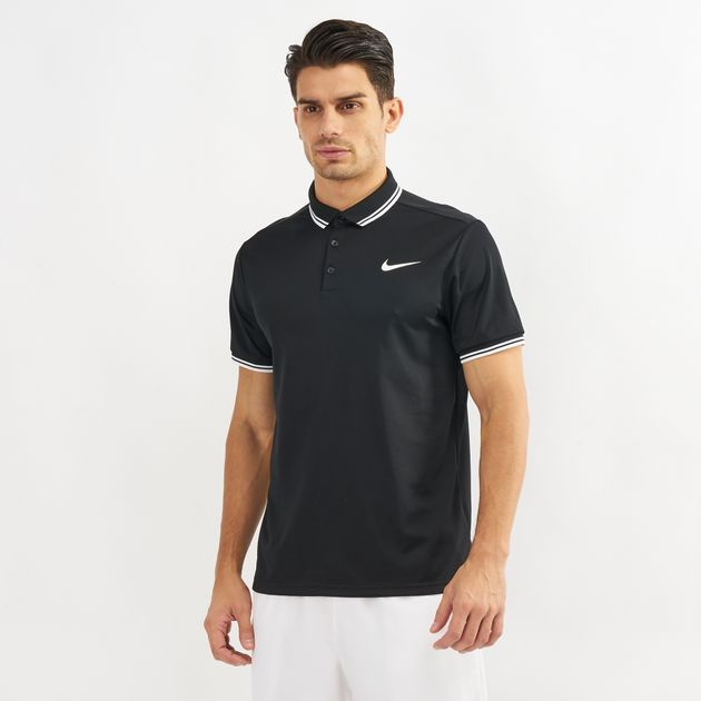 42b8b8a67 Nike Court Dry Solid Polo T-Shirt | Polo Shirts | Tops | Clothing ...