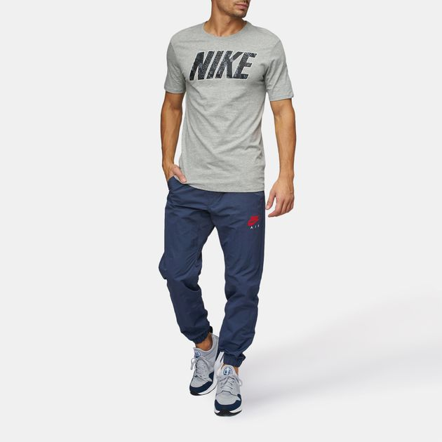 shop best sellers look good shoes sale stable quality Shop Blue Nike Sportswear Air Woven Pants for Mens by Nike | SSS